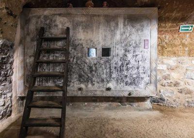 Antiguo depósito de fermentación de vino