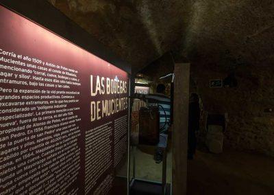 Murales explicativos de las bodegas de Mucientes
