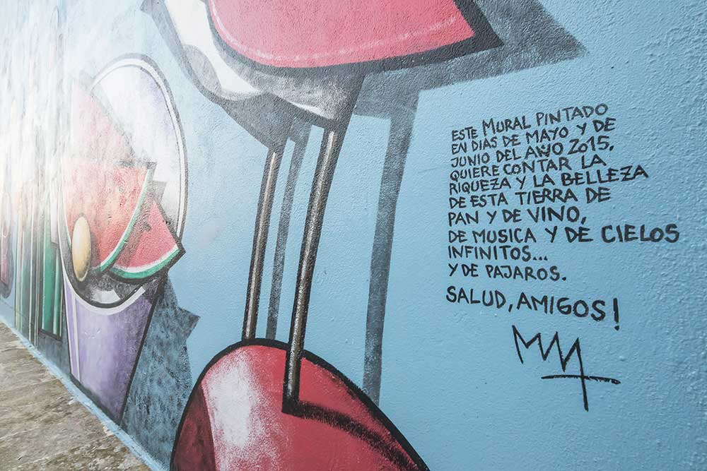 Pinturas murales de Manuel Sierra 1