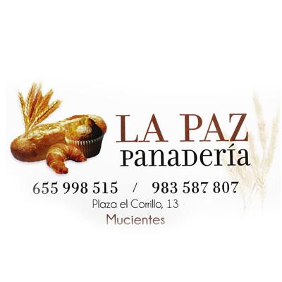 logotipo panaderia la paz