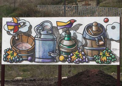 Barricas, tinajas y botellas