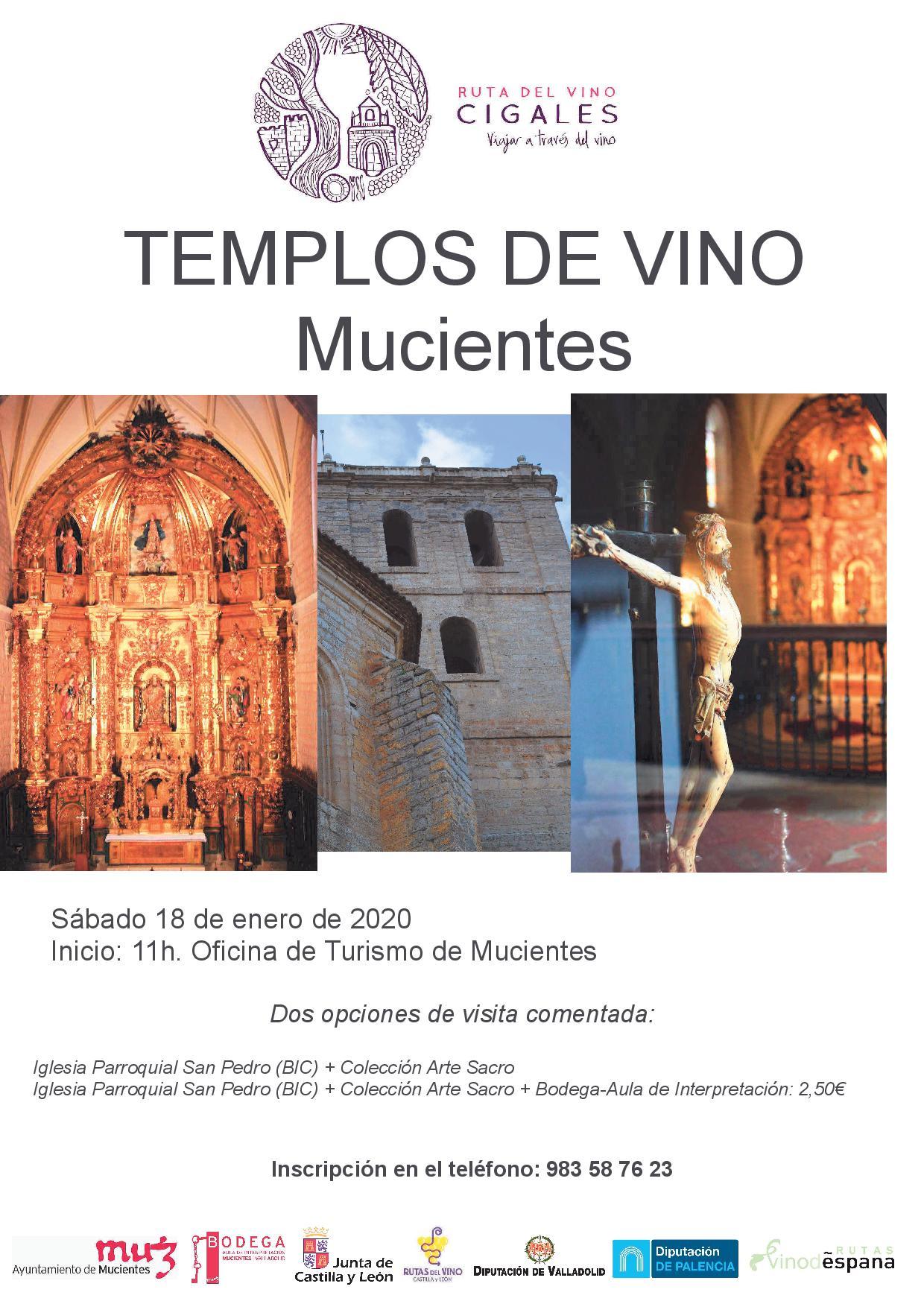 templos del vino mucientes