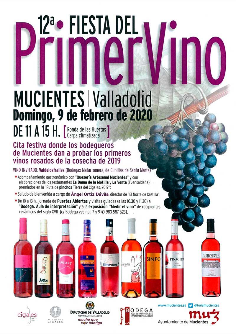 Fiesta del Primer vino de Mucientes 2020 1