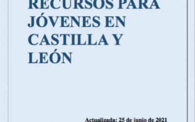 GUÍA DE RECURSOS PARA JÓVENES EN CASTILLA Y LEÓN